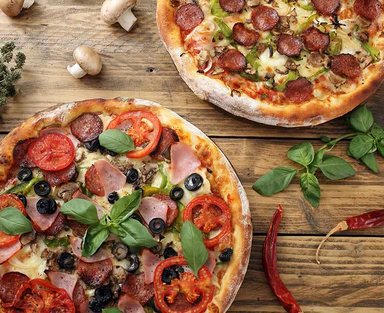 Pizza and Italian Food image library (c) Low Cost Menus