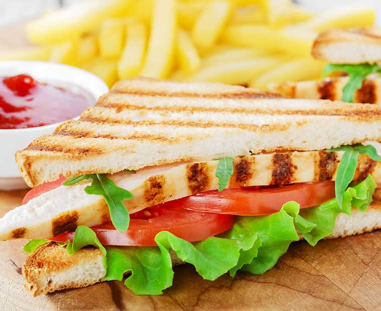 Sandwich Bar food image library (c) Low Cost Menus